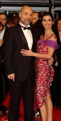 Antonio Resines and Maribel Verdu at the Goya Cinema Awards 2005.