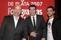 Antonio Resines, Arturo Valls and Fran Perea at the Fotogramas Magazine Silver Awards 2007.