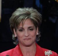 Mary Lou Retton at the start of final night of the Republican National Convention.