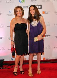 Mary Lou Retton and her daughter at the Muhammad Ali's Celebrity Fight Night XIV.
