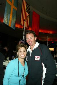 Mary Lou Retton and Mitch Gaylord at the after party of the Los Angeles premiere of