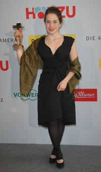 Paula Kalenberg at the Golden Kamera 2009 Press Conference in Berlin.