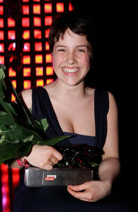 Paula Kalenberg at the New Faces Award 2011 in Berlin.