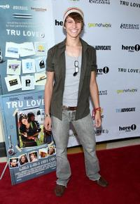 Tye Olson at the premiere of