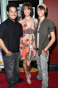Bryan Erickson, Alexandra Paul and Tye Olson at the premiere of
