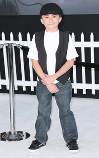 Atticus Shaffer at the California premiere of