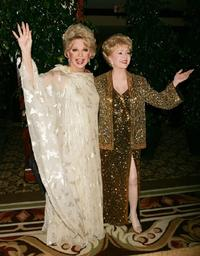 Debbie Reynolds and Rute Lee at the Thalians 50th Anniversary Gala.
