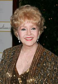 Debbie Reynolds at the Thalians 50th Anniversary Gala.