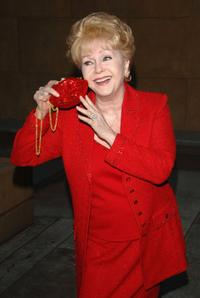 Debbie Reynolds at the Hollywood Stars salute Glenn Ford's 90th birthday.