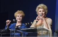 Debbie Reynolds and Ruta Lee at the 51st Annual Thalians Ball.