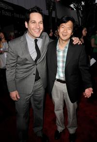 Paul Rudd and Ken Jeong at the premiere of