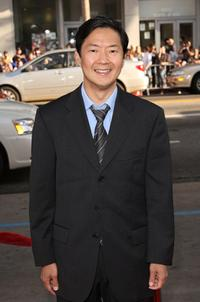Ken Jeong at the Los Angeles premiere of