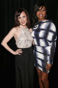 Kathy Searle and Taraji P. Henson at the TFF Awards Night during the 2013 Tribeca Film Festival.