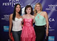 Jessalyn Wanlim, Kathy Searle and Ursula Abbott at the premiere of