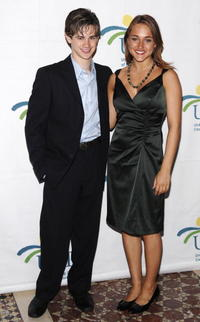 Connor Paolo and Alice Kremelberg at the 7th Annual Women Who Care Luncheon.