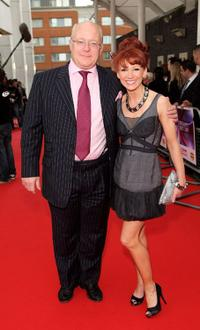 Paul Grunert and Bonnie Langford at the Britain's Best 2008 Awards.