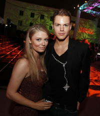 Kendra Konopaski and Arthur Napiontek at the after party of the premiere of