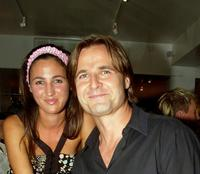 Katherine Keating and Simon Reynolds at the launch of Parlour X new season collection.