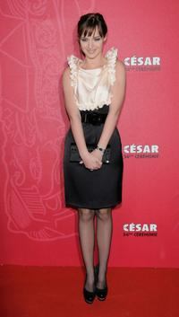 Louise Bourgoin at the Cesar Film Awards 2009.