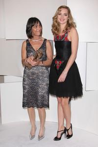 Juliette Welfling and Louise Bourgoin at the Cesar Film Awards 2008.