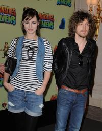 Louise Bourgoin and Julien Dore at the photocall of
