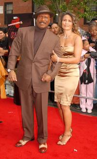 Ving Rhames and Deborah Reed at the premiere of