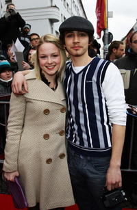 Kimberley Nixon and Robert Sheehan at the photocall of