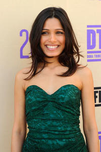 Freida Pinto attends the 2010 Tribeca Film Festival.
