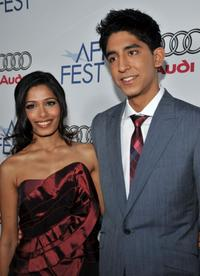 Freida Pinto and Dev Patel at the 2008 AFI Fest Tribute To Danny Boyle.