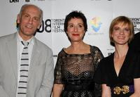 John Malkovich, Anna Maria Monticelli and Jessica Haines at the premiere of