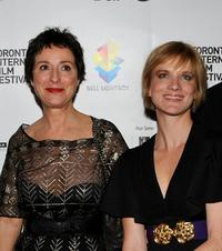 Anna Maria Monticelli and Jessica Haines at the premiere of