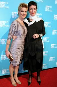 Jessica Haines and Anna Maria Monticelli at the official Sydney Film Festival gala opening of