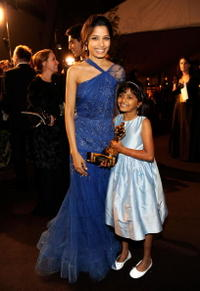 Freida Pinto and Rubina Ali at the 81st Annual Academy Awards.