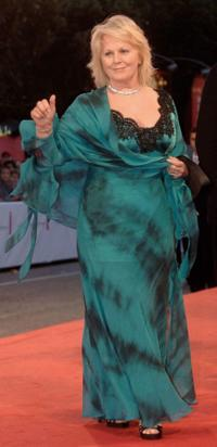 Katia Ricciarelli at the premiere of