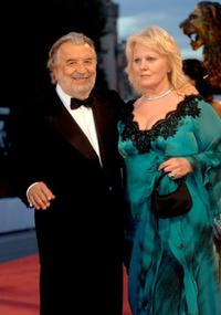 Director Pupi Avati and Katia Ricciarelli at the premiere of