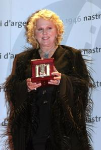 Katia Ricciarelli at the Italian Film Critics Movie Awards.