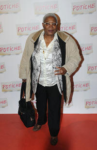 Firmine Richard at the Paris premiere of