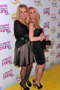 Kathy Hilton and Kim Richards at the California premiere of