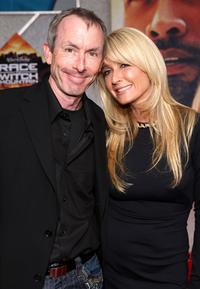 Ike Eisenmann and Kim Richards at the premiere of