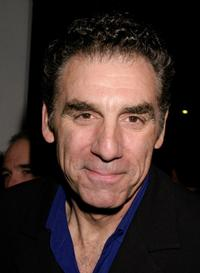 Michael Richards at the opening night performance of