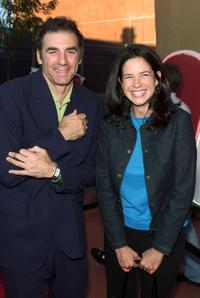 Michael Richards and Amy Farrington at the NBC Summer 2000 TCA Party.
