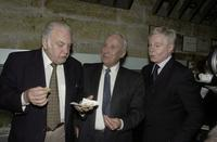 Ian Richardson Obe, Sir Donald Sinden and Sir Derek Jacobi at the Sydney Premiere of