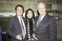 Ian Richardson Obe, Joseph and wife at the Sydney Premiere of