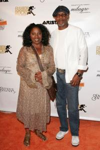 La Tanya Richardson and her husband Samuel L. Jackson at the Intimate Evening with Santana.