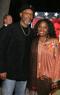 Samuel L. Jackson and his wife La Tanya Richardson at the world premiere of