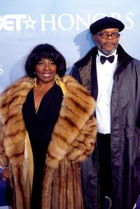 La Tanya Richardson and Samuel L. Jackson at the 2nd Annual BET Honors.