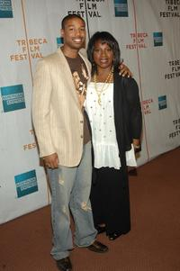 Michael B. Jordan and La Tanya Richardson at the premiere of