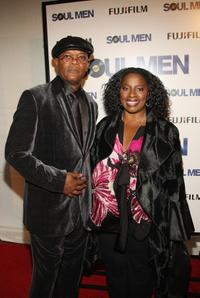 Samuel L. Jackson and La Tanya Richardson at the world premiere of