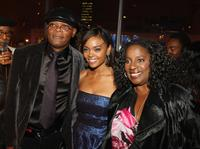 Samuel L. Jackson, Sharon Leal and La Tanya Richardson at the after party of the world premiere of