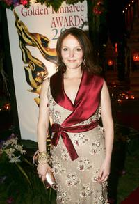 Miranda Richardson at the 2005 Golden Kinnaree Awards for the Bangkok International Film Festival.